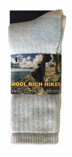 2 paires femme epaisse laine hiver chaudes thermiques chaussettes de randonnée