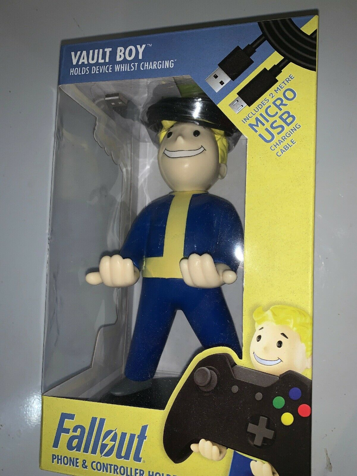 Fallout Video Games Cable Guy Vault Boy Phone And Controller Device Charger