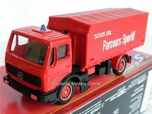 Mercedes Benz Pacours Rojo Fuego Emergencia Camión Mint tema empaquetado K8967Q ~ # ~
