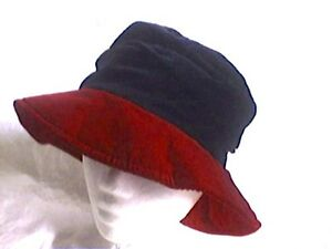 Hut-Damenhut-Samthut-Flapper-schwarz-mit-rot-Baumwollsamt