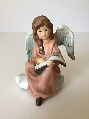 Goebel Engel Auf meiner kleinen Wolke Himmelsboten Figuren Dekoration Porzellan