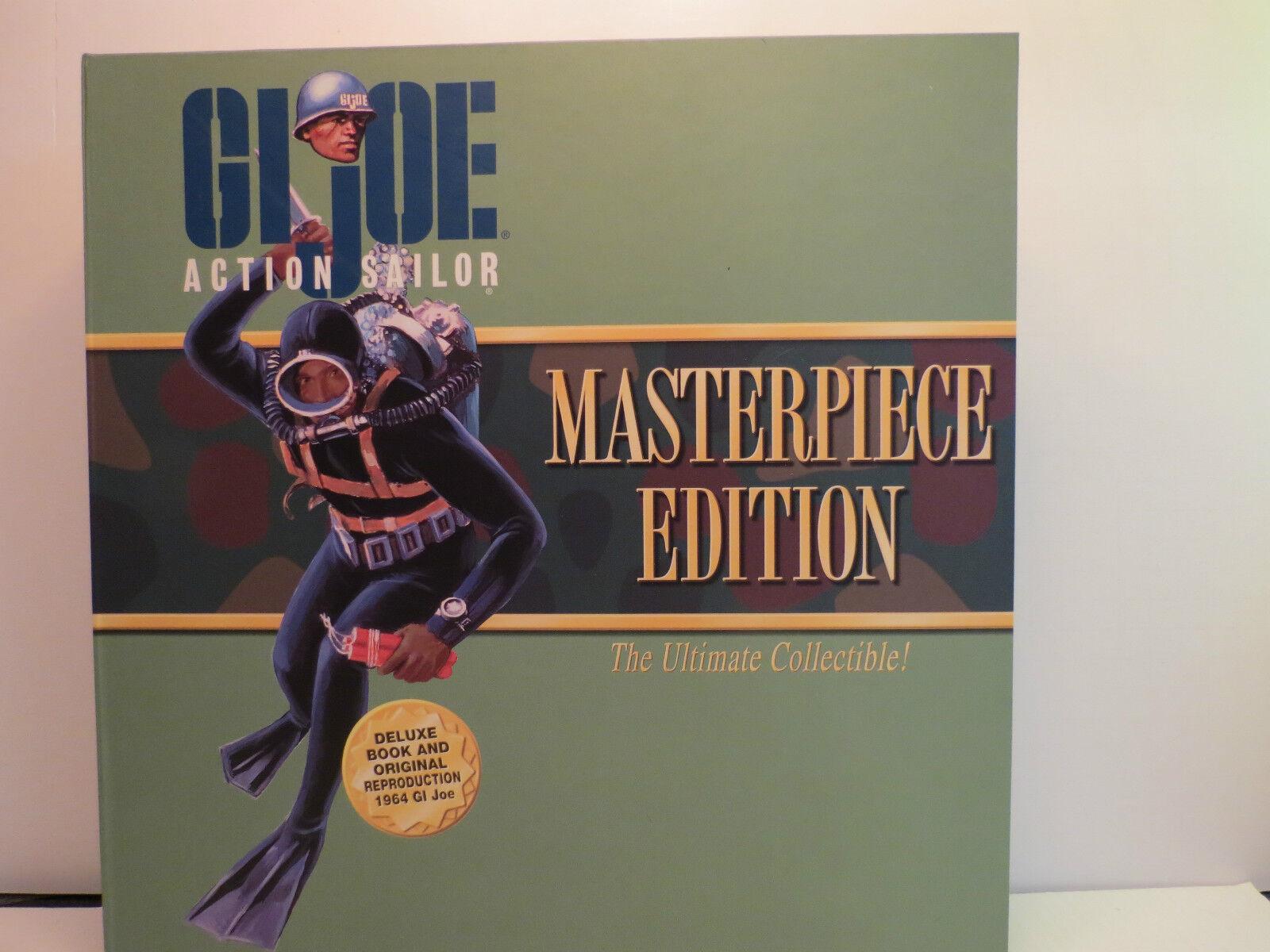Hasbro GI Joe Masterpiece Edition African American Action Sailor W  Book ,  New
