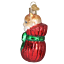 thumbnail 3 - Old World Christmas LETTING THE CAT OUT OF THE BAG (12370)N Glass Ornament w/Box