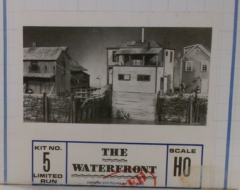 HO HOn3 CRAFTSMAN BUILDERS IN SCALE  THE WATERFRONT KIT   NEW UNSTARTED