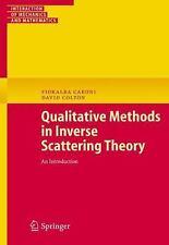 Interaction of Mechanics and Mathematics: Qualitative Methods in Inverse...
