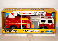 Tonka Spartans Fire Engine Truck 328 Lights & Sounds Emergency Vehicle Play Toy