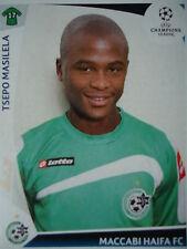 Panini 63 Tsepo Masilela Maccabi Haifa UEFA CL 2009/10