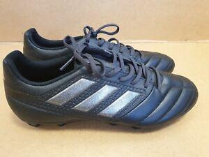 C873-Adidas-Da-Uomo-Nero-Scarpe-Da-Calcio-UK-10-EU-45-EX-CONDIZIONI
