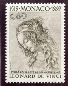 Stamp / Timbre De Monaco N° 802 ** Leonard De Vinci