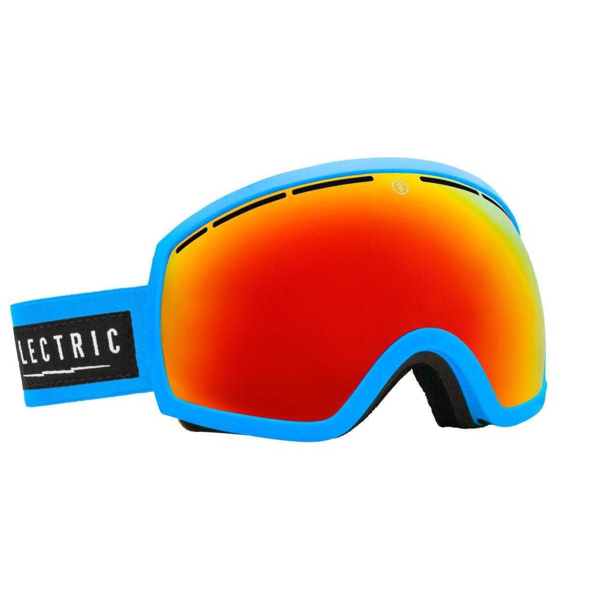 New ELEKTRISCH EG2 snow goggles CODE blueE BRONZE-RED CHROME + BONUS LENS ski eg3