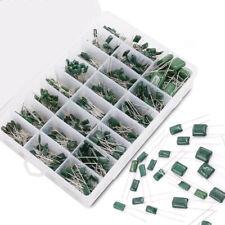 700pc 100v Mylar Polyester Film Capacitor Assortment Kit 24 Values 022 To 470nf