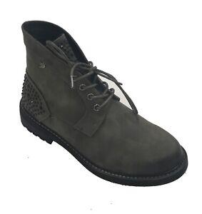 Tom Tailor Stiefelette 5895207 Coal Damen Schuhe Modern Boots Halblange Stiefel