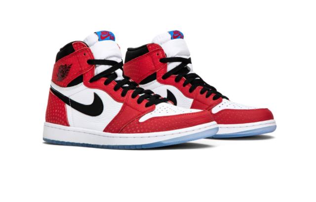 half off 99fcd bf77c Origin Story Nike Air Jordan 1 Retro 555088-602 Red Photo Blue Men DS All