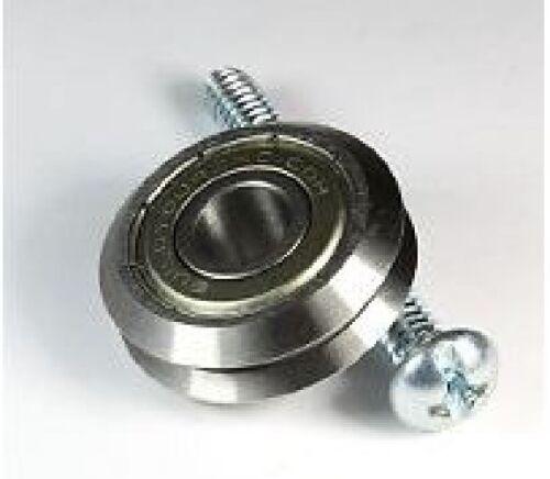 """Lot of 16 VGroove bearings RM2ZZ Pack of 16 V-Groove Bearings 3//8/"""" diameter"""