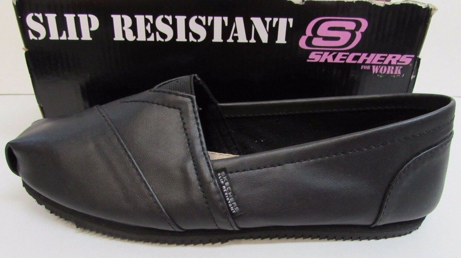 Skechers for Work  Slip Resistant Size 11 Black New Womens Shoes