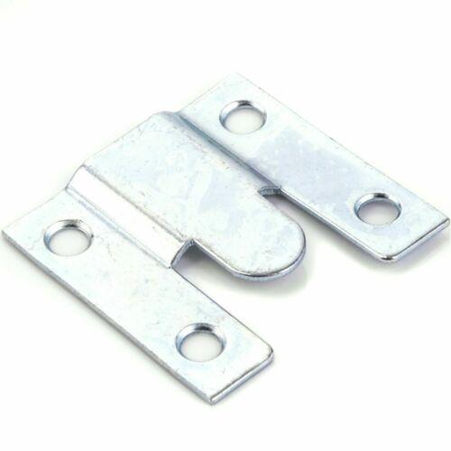 Paquete De 24 Soportes ocultos de montaje al ras Oculta Imagen//Mirror//la suspensión de cabecera