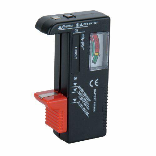 Unitec 46021 Universal Battery Tester 1.5 V/9 V