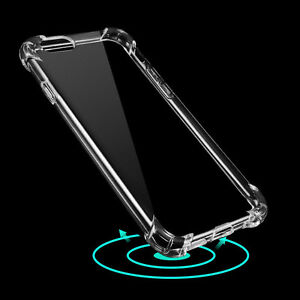 clear hybrid rubber airbag shockproof tpu back cover case. Black Bedroom Furniture Sets. Home Design Ideas