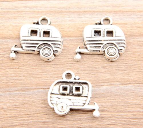 Free Ship 22//46Pcs Tibetan Silver Car Pendant Charms 20x18mm
