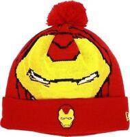 Ironman Marvel Comics Woven Character Biggie Era Knit Hat Cap Beanie Osfa