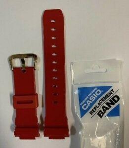 CASIO-Original-G-Shock-Strap-DW-6930A-4-Glosse-Red-Band-DW-6930A-4-DW-6930