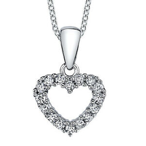 925-Sterling-Silver-CZ-Open-Heart-Love-Pendant-Necklace-with-Cubic-Zirconias