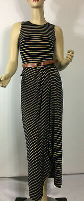 Lauren Ralph Lauren Womens Navy Striped Sheath Mini Dress Petites 16P BHFO 2469