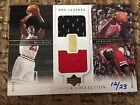 2000 UD Master Collection Michael Jordan Dual Game Jersey-patch /23