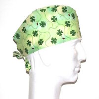 St. Patrick's Day Theme Scrub Hat