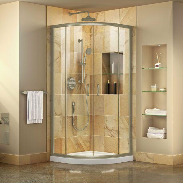 Dreamline Dl 6702 04cl Prime 36 Quot Glass Sliding Shower