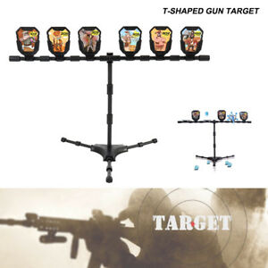 Zielscheibe-Pendelziel-Schiessspiel-Field-Target-Spielzeug-Blaster-Dart-kinder