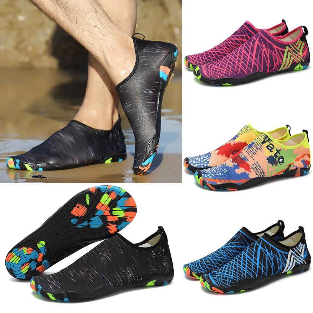 Unisex Outdoor Slip On Aqua Shoes Diving Beach Surf Sports Swim Diving Shoes Water Shoes 76e19d