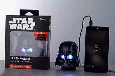 New Star Wars Power bank 6800Mah  Darth Vader External Portable Battery Charger