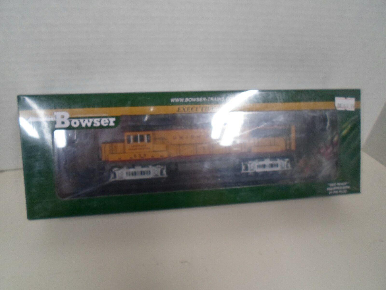 Bowser UP  GE U 25 B  RD  639 DCC & SND