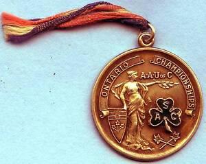 Amateur-Athletic-Ontario-Pendant-440-Yards-1947-15-4-Grams-Silver-925-35mm-Dia