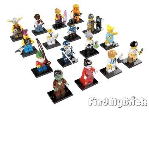 Neu - Lego Minifigur 8804 Serie 4 - Viele Of 16 - Neu
