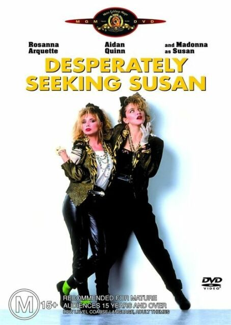 Desperately Seeking Susan (DVD, 2004) RARE DVD MADONNA MOVIE REGION 4