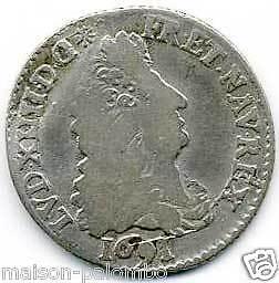 LOUIS-XIV-1643-1715-1-12-ECU-AUX-8-L-1691-A-PARIS