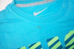 T-Shirt-hellblau-Nike-Just-do-it-Gr-M