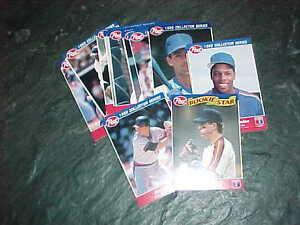 1992 Post Cereal Baseball Card Lot 15 Nolan Ryan Ken