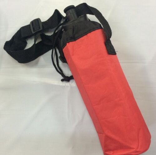 COLOUR AT RANDOM 9 Dia X 25 Cm H Sport bag School Insulated Water Bottle Carry