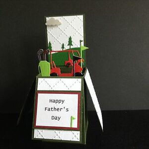 Image Is Loading Handmade Card Happy Birthday Fathers Day Personalised Pop