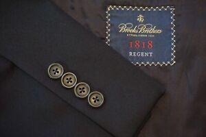 Brooks-Brothers-Regent-CURRENT-Estrato-Wool-Navy-Blue-Sport-Coat-Blazer-Sz-43R