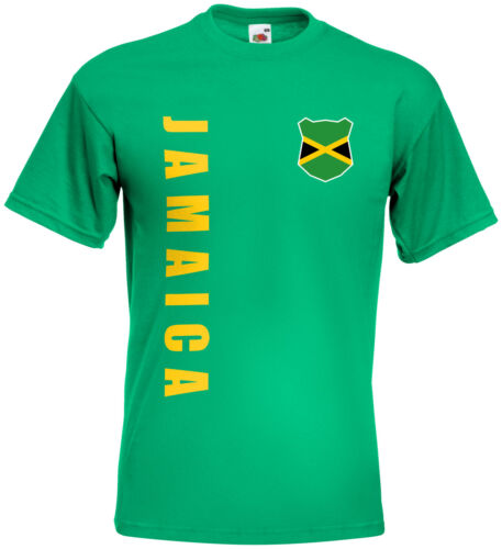 WM 2018 Jamaika JAMAICA T-Shirt Trikot Name Nummer