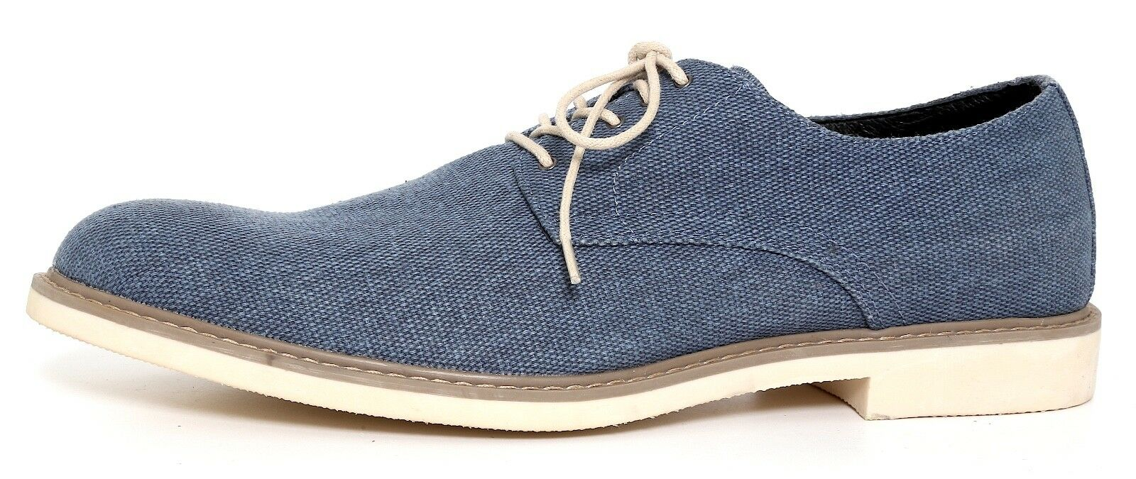 The Rail Xander Plain Toe Derby bluee Men Sz 45 EUR 1021