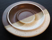 FABRIK China AGATE PASS Stoneware SAUCER 6.5 in Seattle Artist Discontinued Vntg