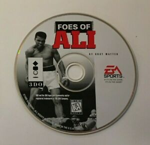 Foes of Ali (3DO, 1995) DISC ONLY - Tested
