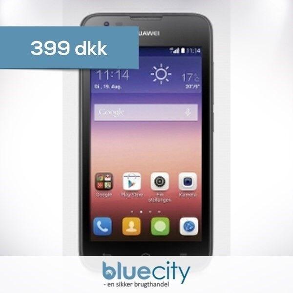 HUAWEI Huawei Ascend Y550 4GB Sort, Huawei Ascend Y550 4GB