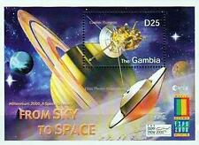 GAMBIA = EXPO 2000  S/S MNH ** SPACE & ASTRONOMY (SATURN)