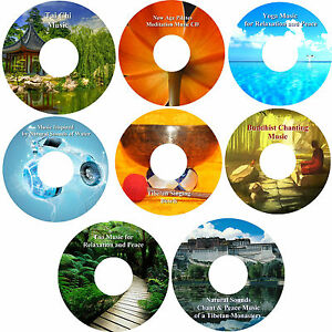 Relief-of-Stress-amp-Anxiety-Relaxation-Music-8-CD-Collection-Healing-Deep-Sleep